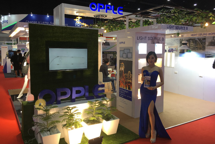 Opple Participate In Architect Expo Amp Led Expo Opple
