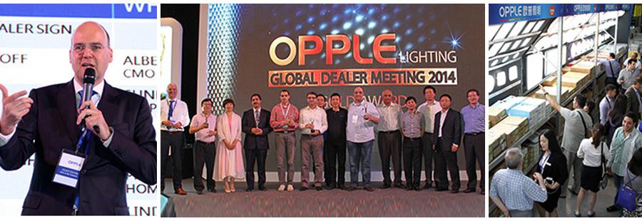 Global Dealer Meeting 2014 Opple Lighting Global