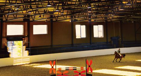Mistico Equestrian Center Opple Lighting Global