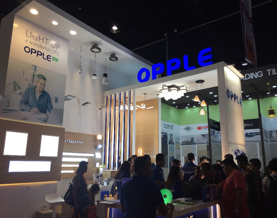 Expo Stand Bolivia : Worldbex expo in philippines opple lighting global